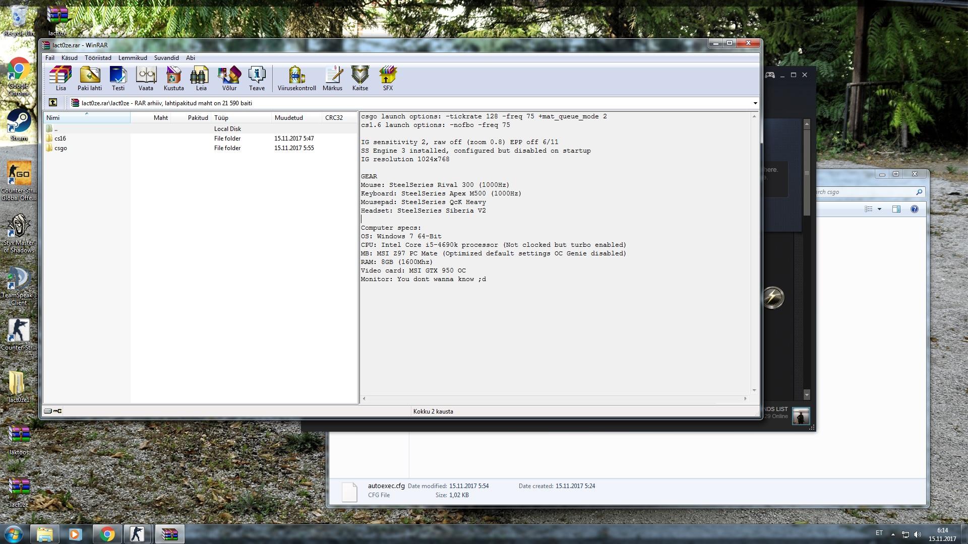 LactozE csgo config settings download - Gamingcfg com