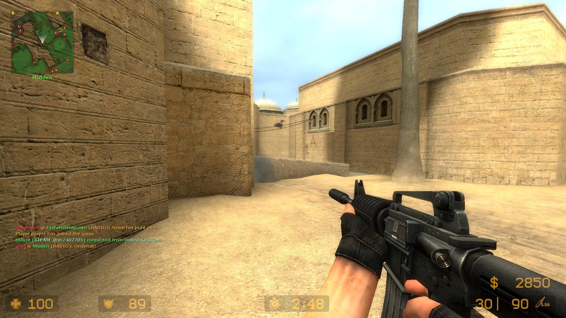 Counter strike Source css screenshot - Gamingcfg.com Сега Приколы