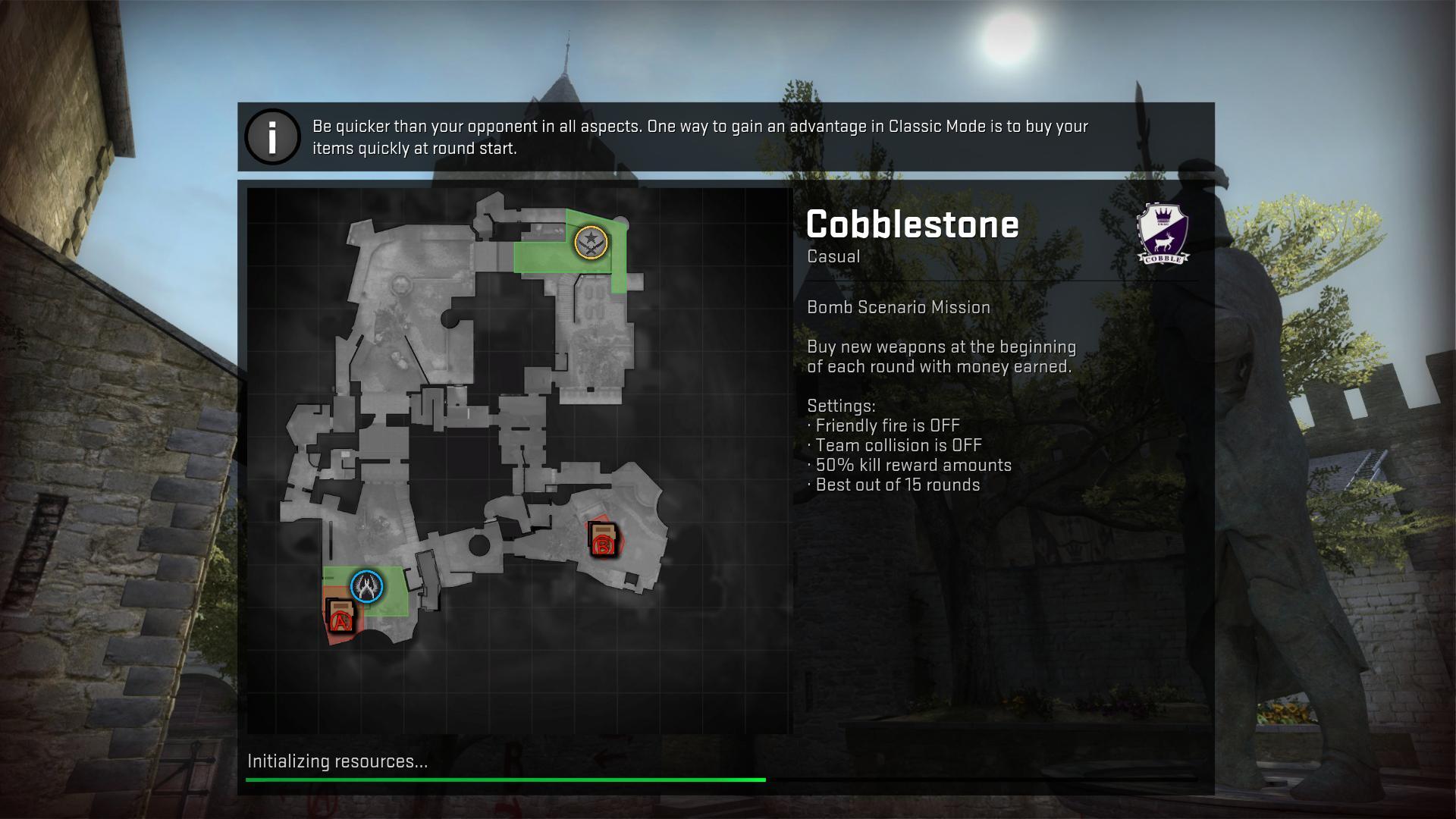 csgo cobblestone csgo screenshot - Gamingcfg com