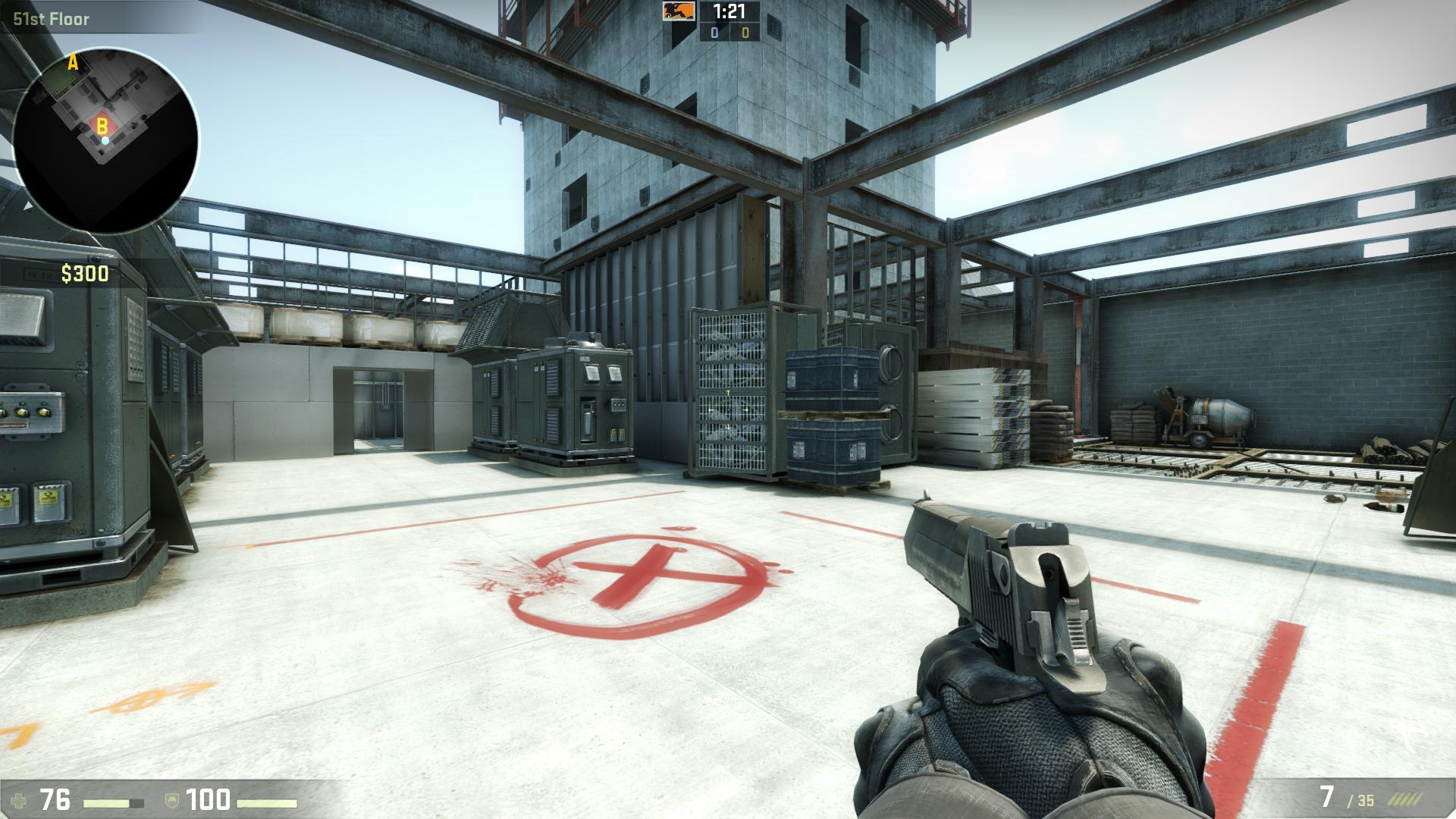 csgo de_vertigo csgo screenshot - Gamingcfg com
