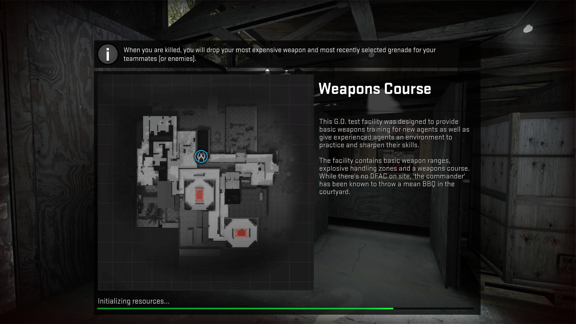 cs go Weapons Course csgo screenshot