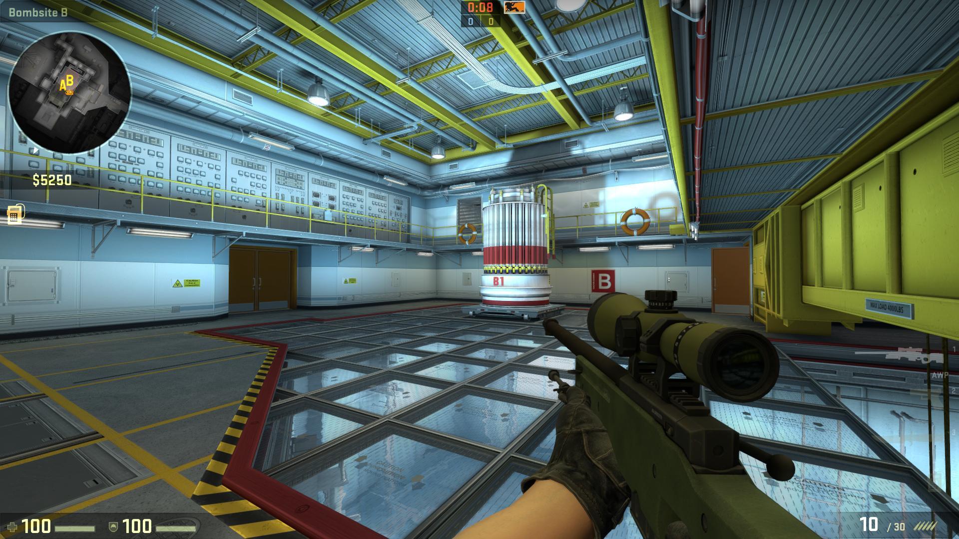 de_nuke bomsite b csgo screenshot - Gamingcfg com