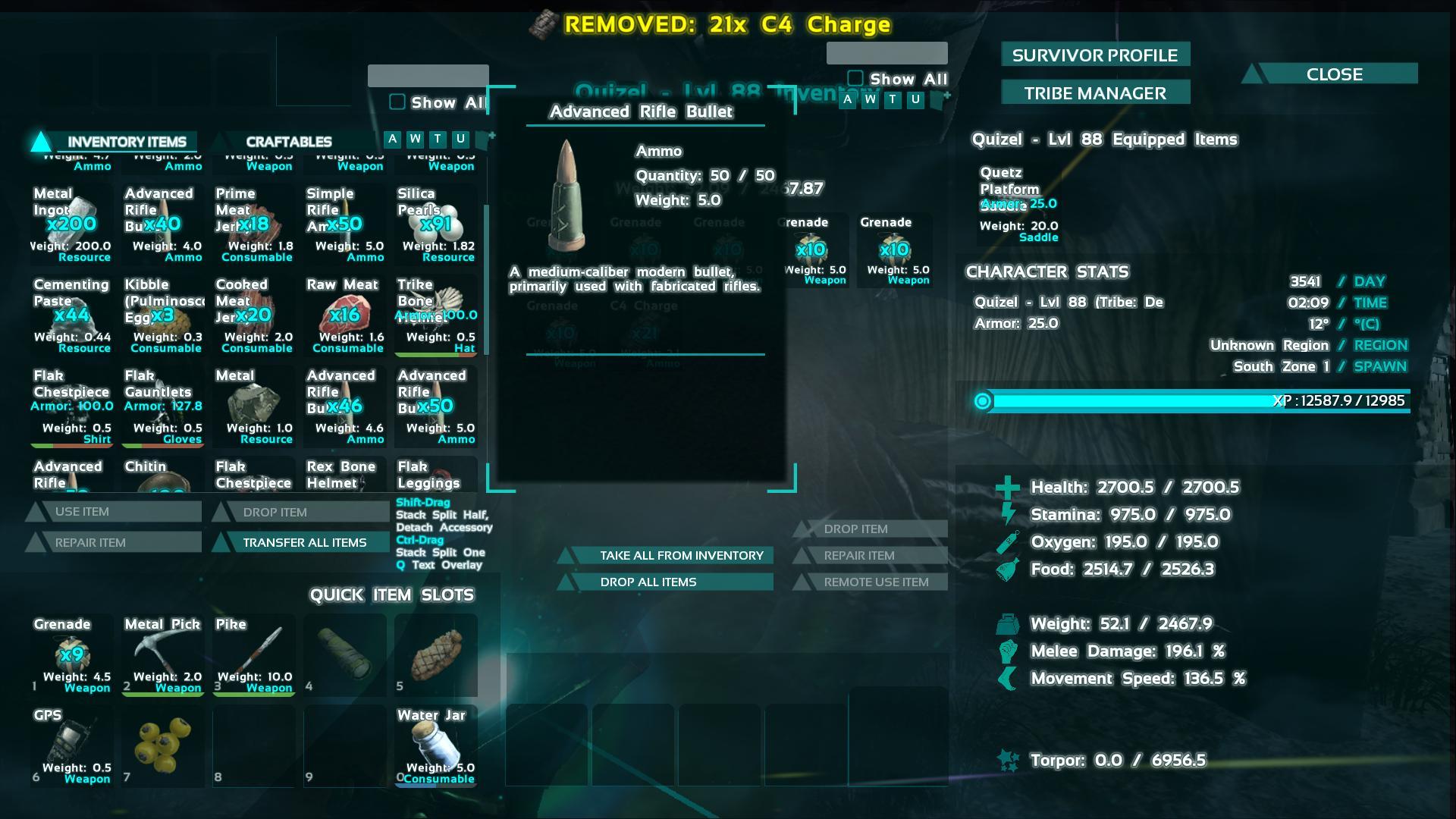 advanced bullet ark