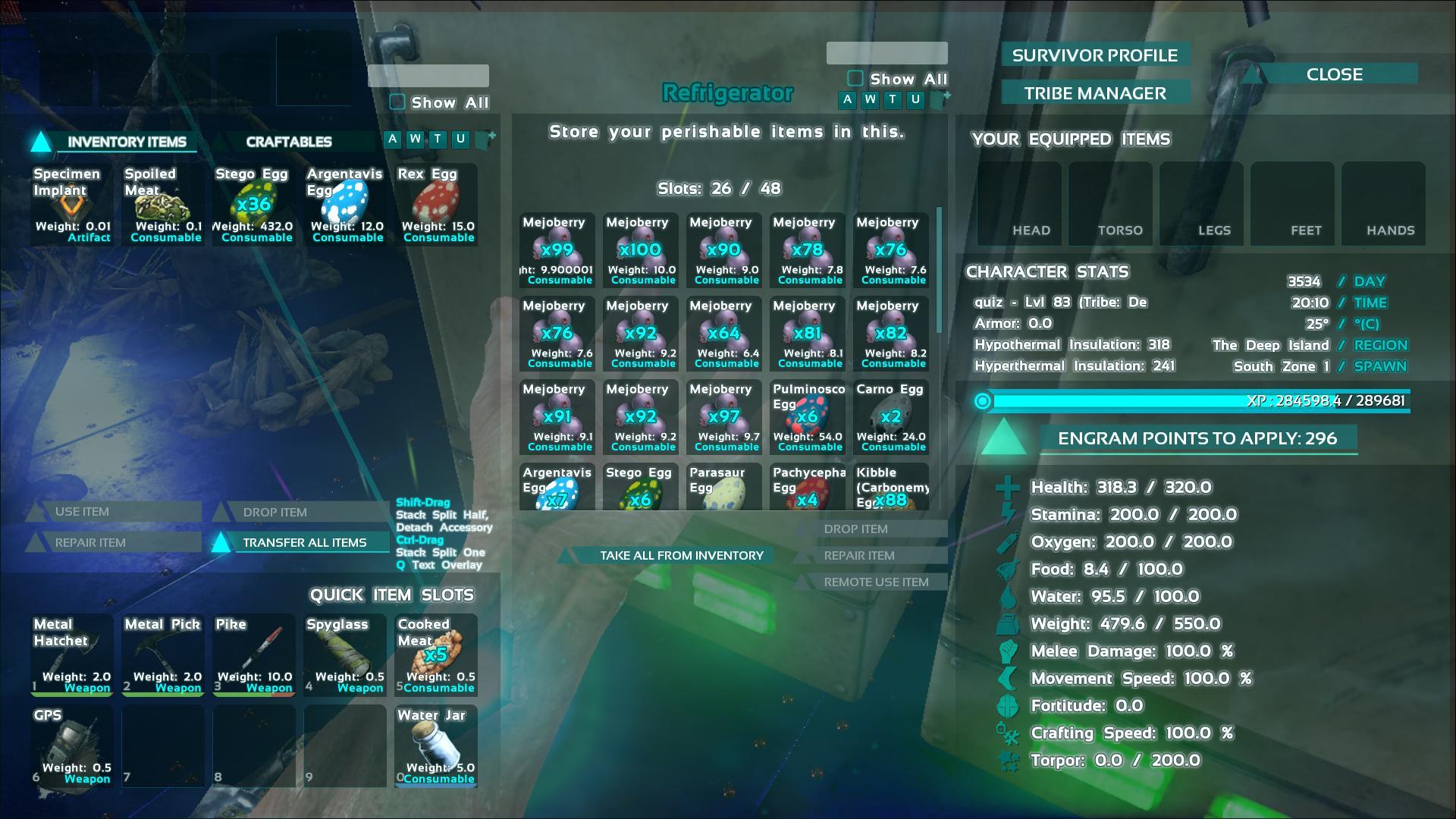 ARK Refrigerator Ark Screenshot