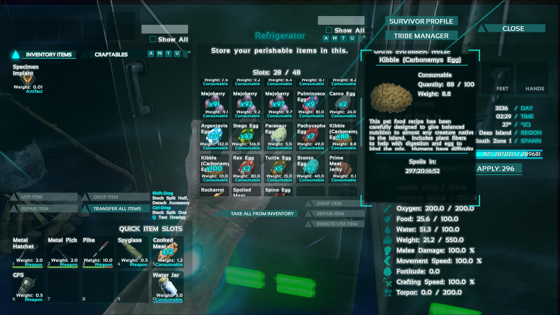 Carbonemys kibble ark recipes taste this page will list all of the kibble recipes in ark survival evolved credit goes to contents hide 1 instructions 2 kibble recipe general forumfinder Gallery