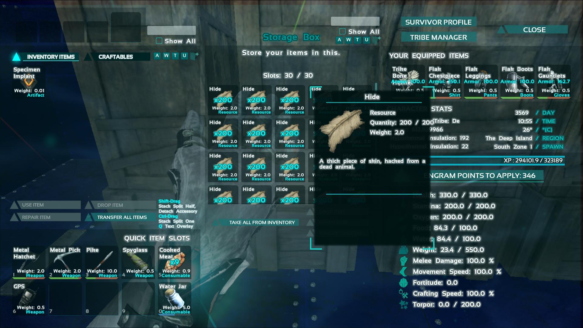 Farming Hide ark screenshot - Gamingcfg com