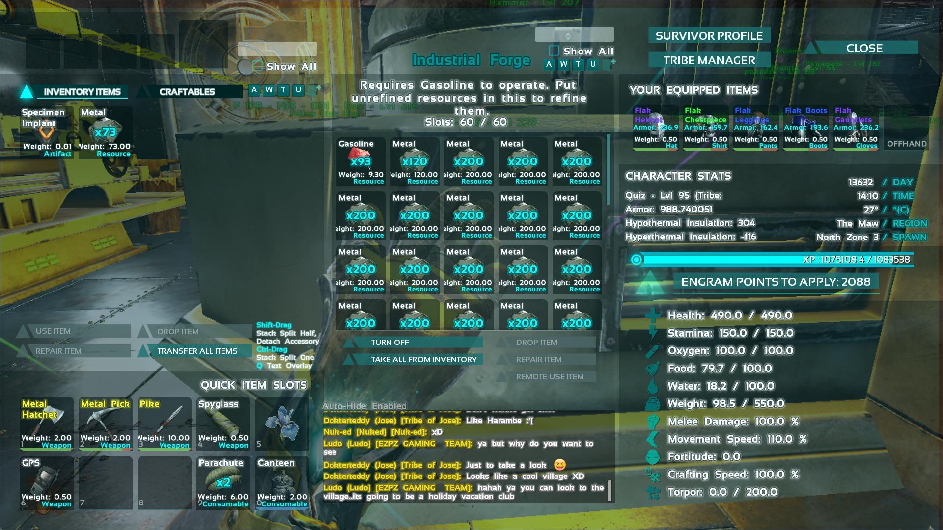 industrial forge ark screenshot. Black Bedroom Furniture Sets. Home Design Ideas