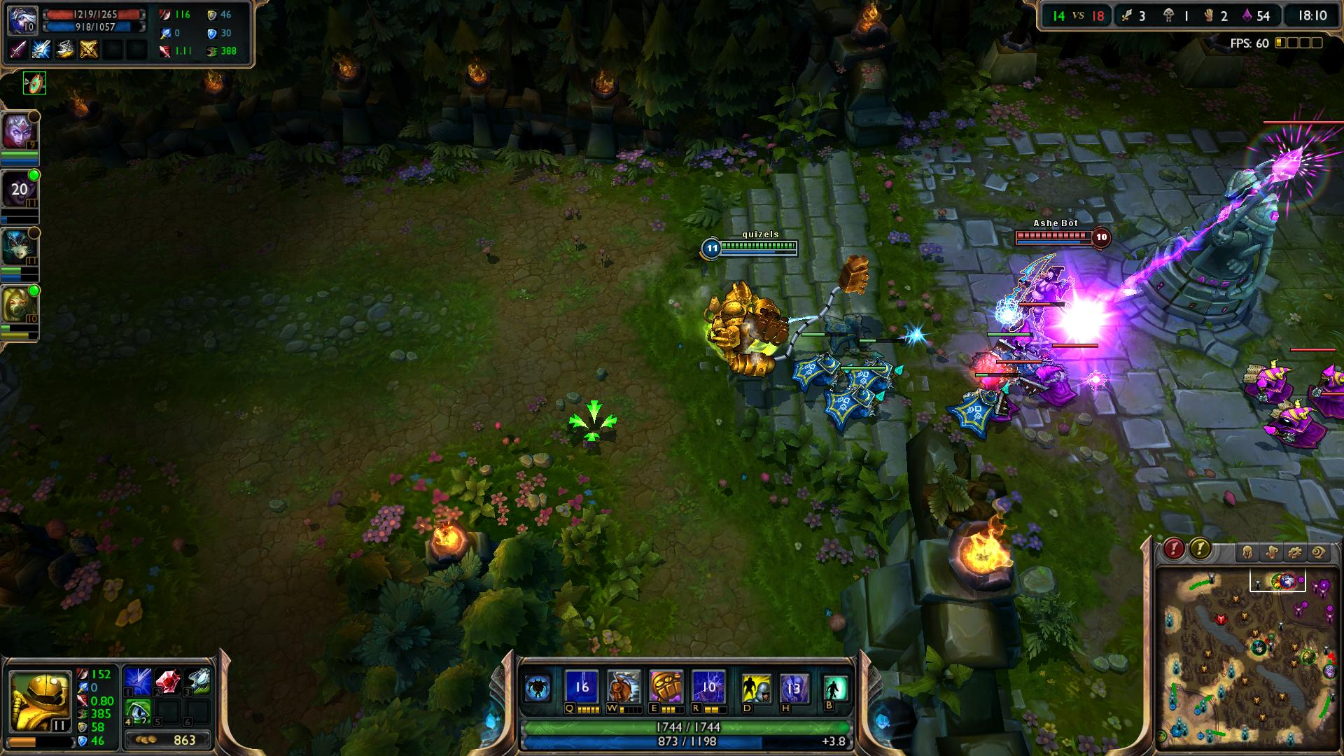 Rocket Grab Blitzcrank lol screenshot