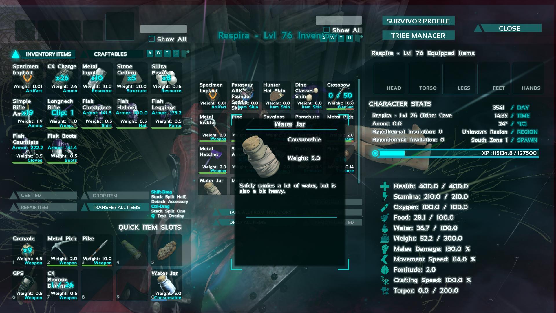 Water Jar ark screenshot - Gamingcfg com