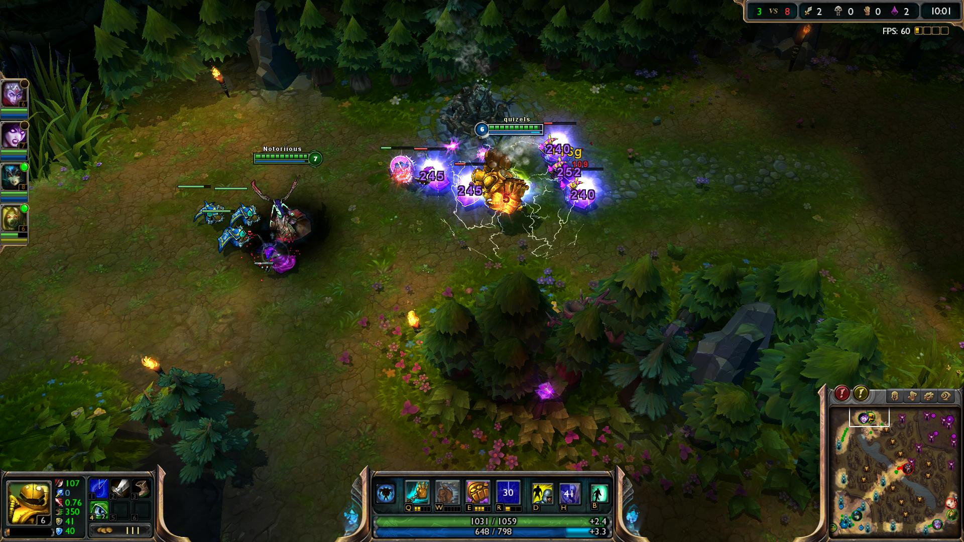 Static Field Blitzcrank lol lol screenshot - Gamingcfg com