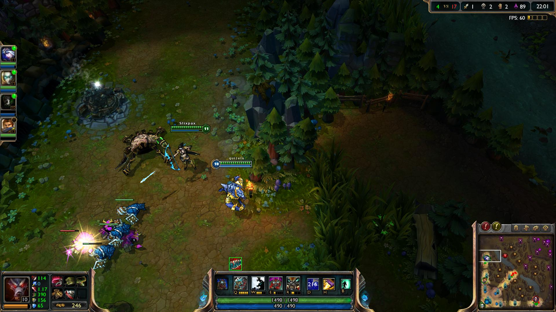 Warwick League of Legends lol screenshot