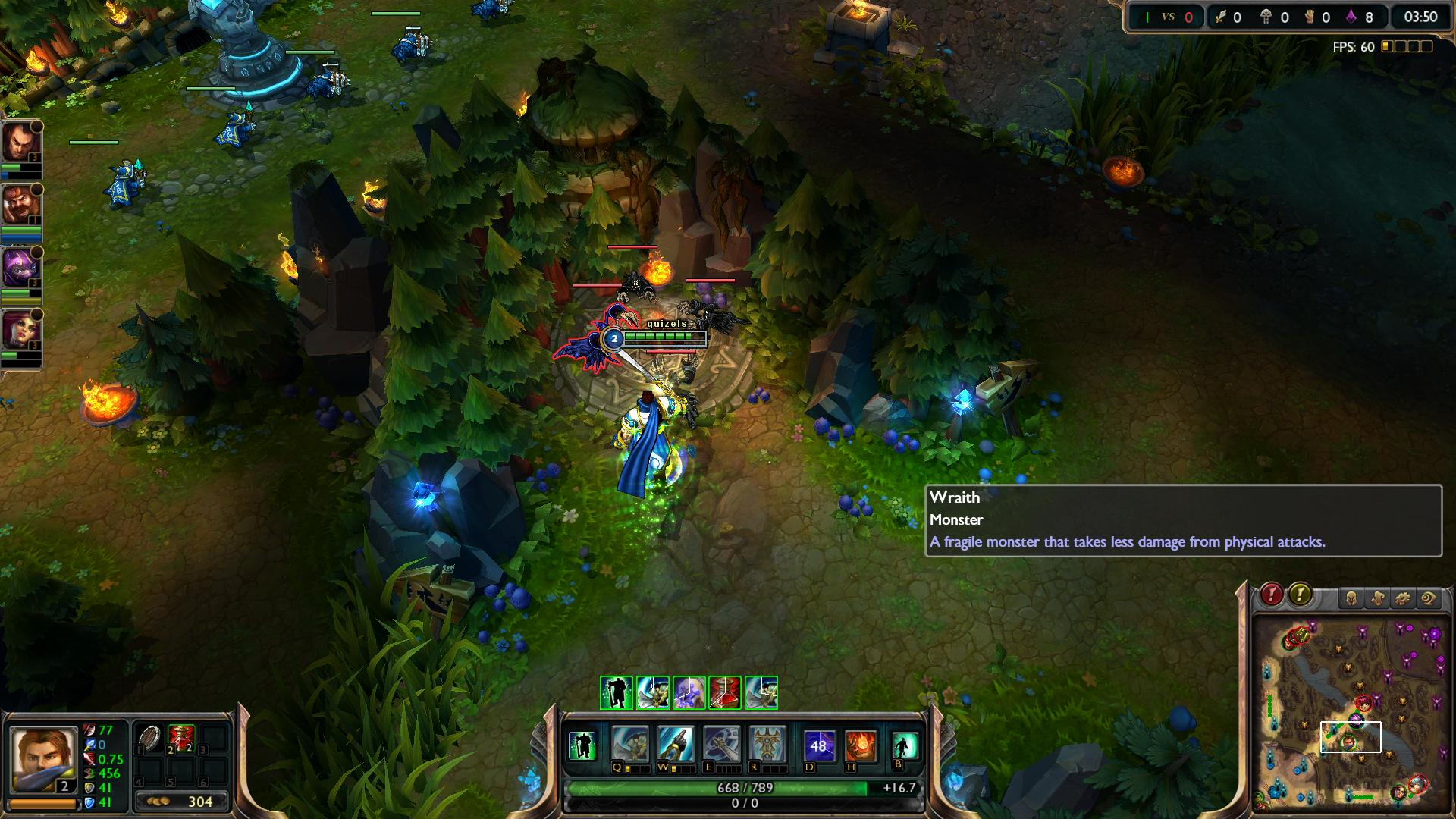 Wraith League of Legends lol screenshot