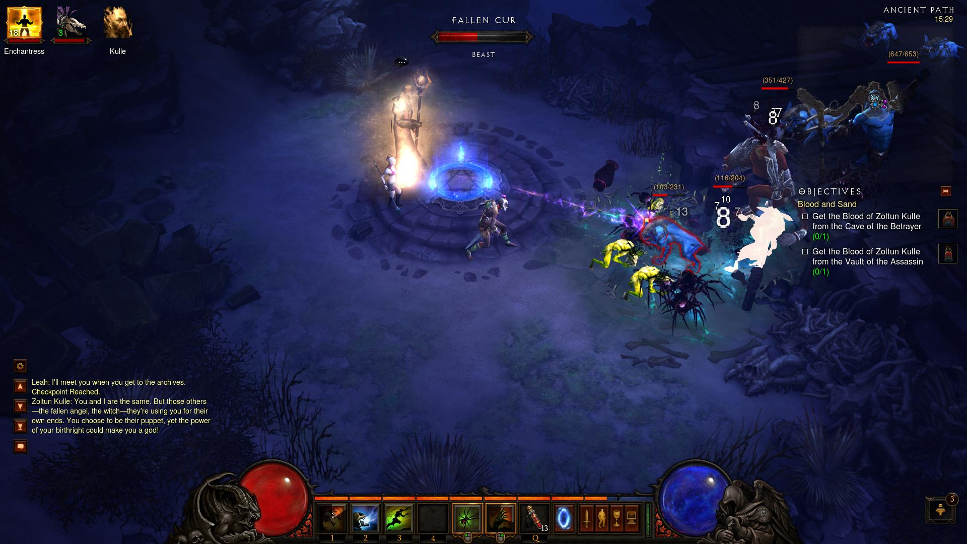 Ancient Path d3 d3 screenshot - Gamingcfg com