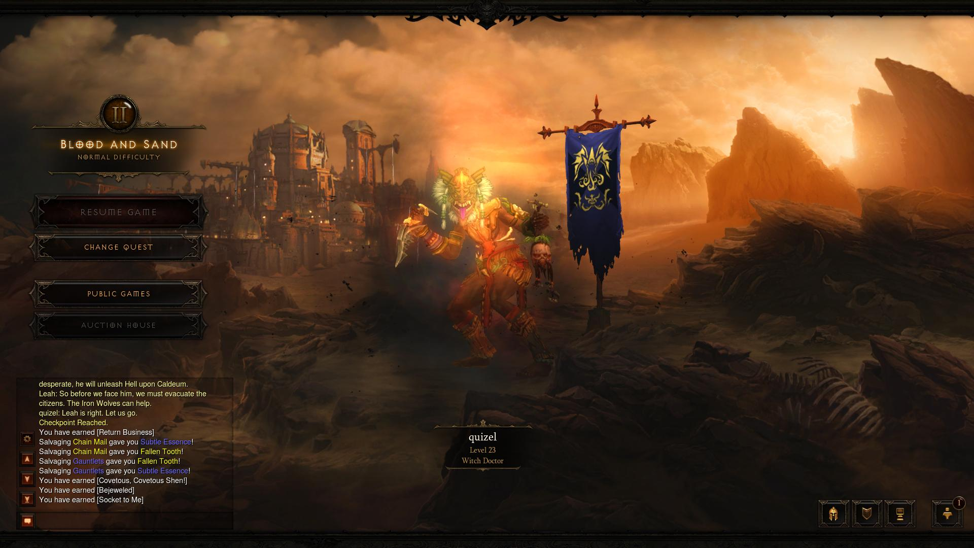 Diablo 3 Act 2 d3 screenshot