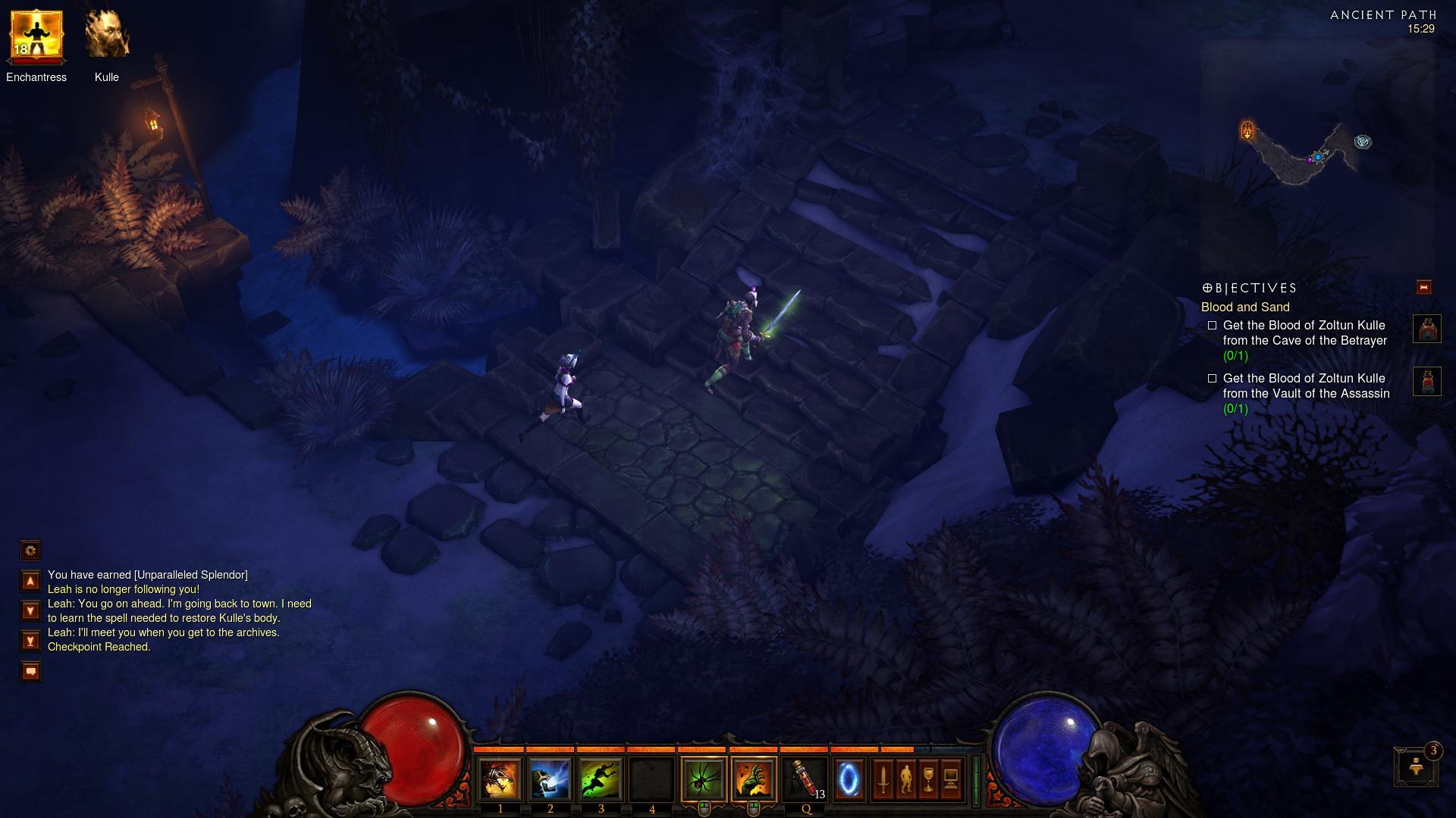Diablo 3 Ancient Path d3 screenshot - Gamingcfg com