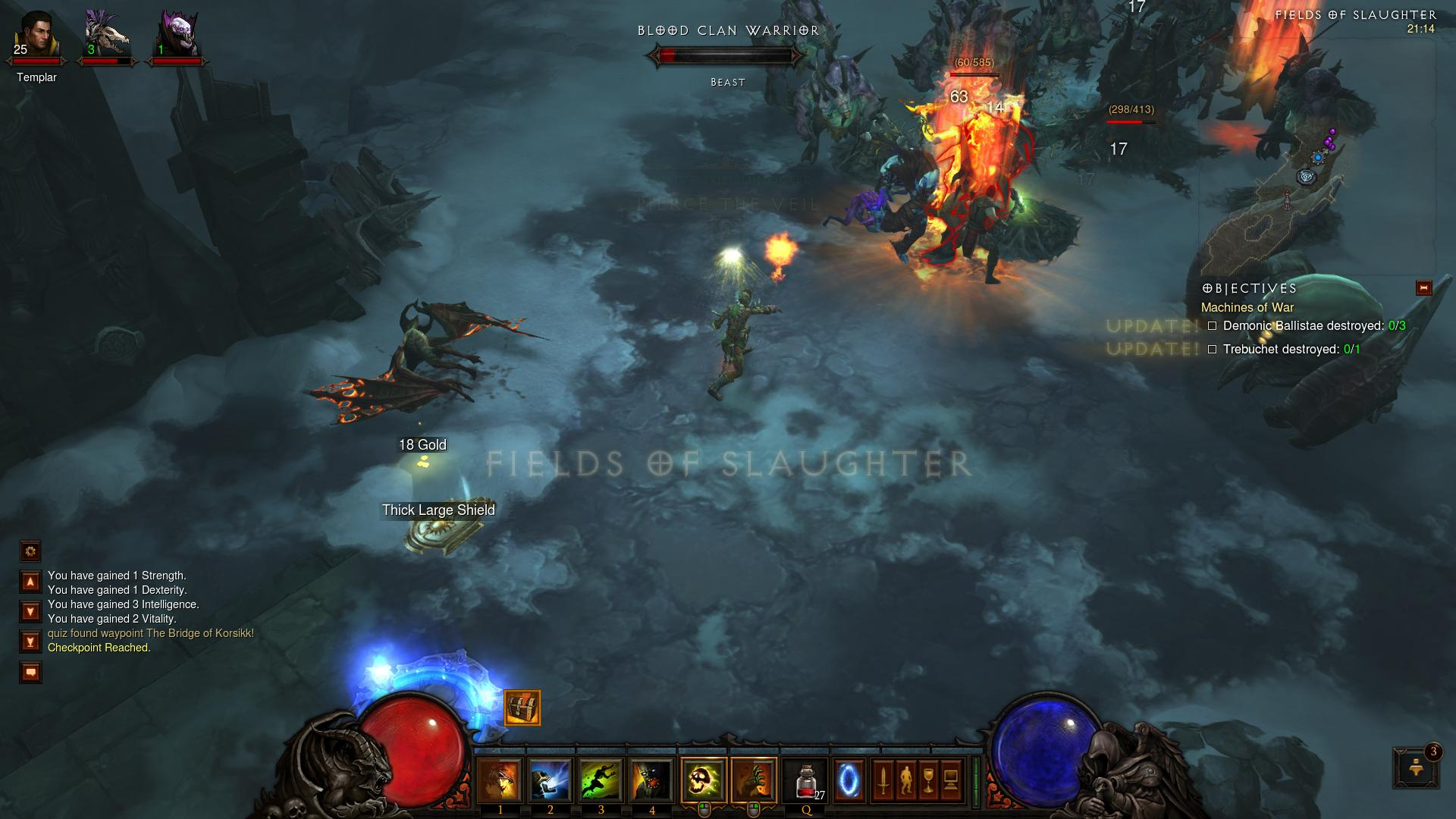 Diablo 3 Fields of Slaughter d3 screenshot