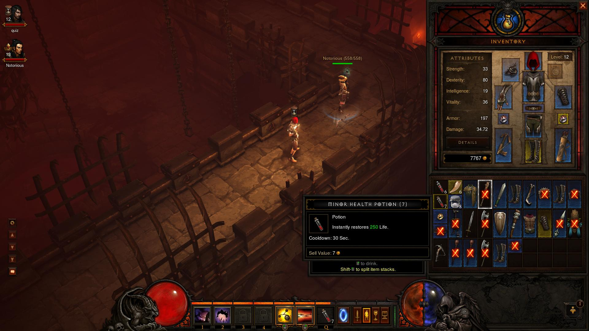 Diablo 3 Inventory d3 screenshot