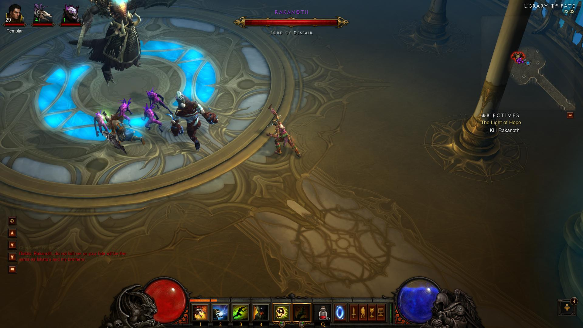 Diablo 3 Rakanoth d3 screenshot