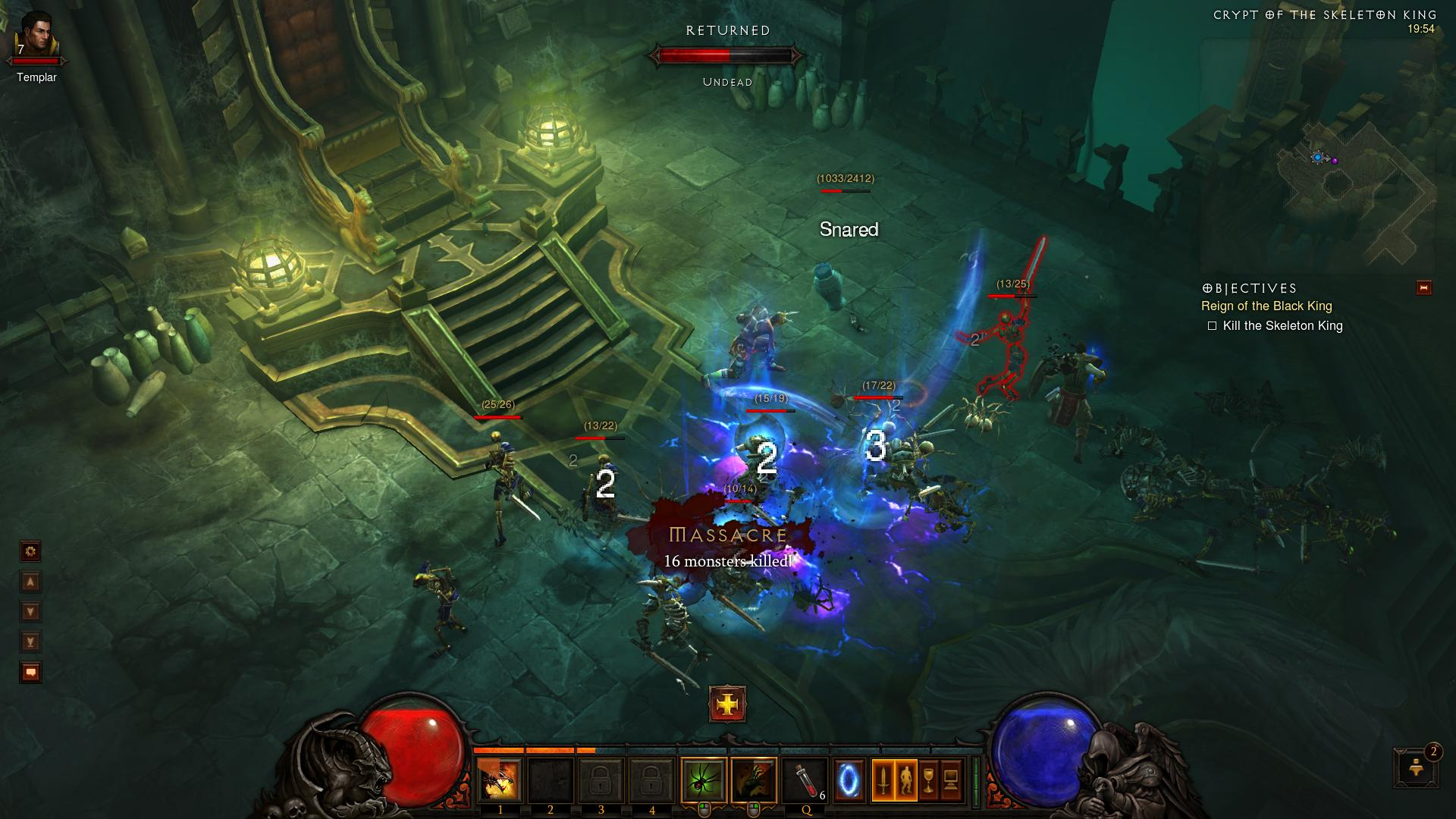 Skeleton King Diablo 3 d3 screenshot