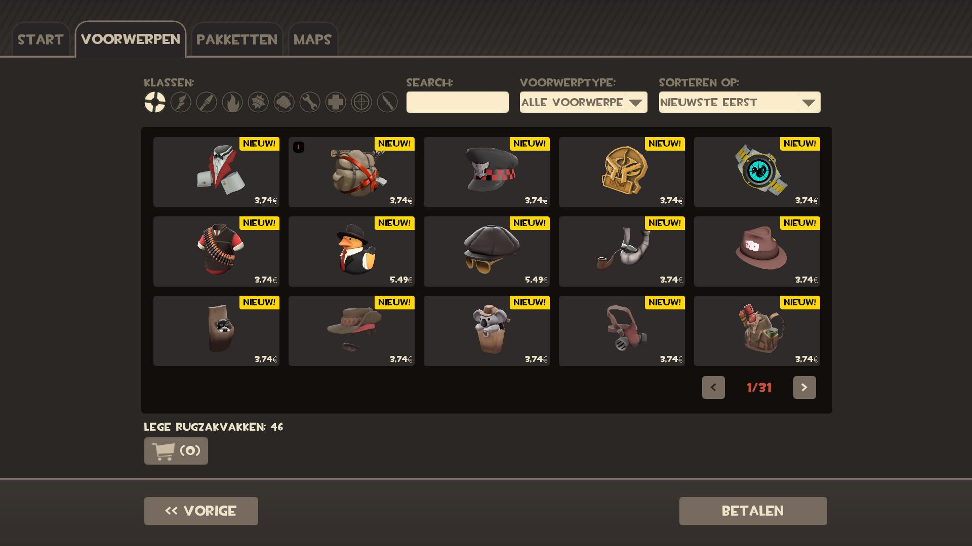 tf2 how to find items