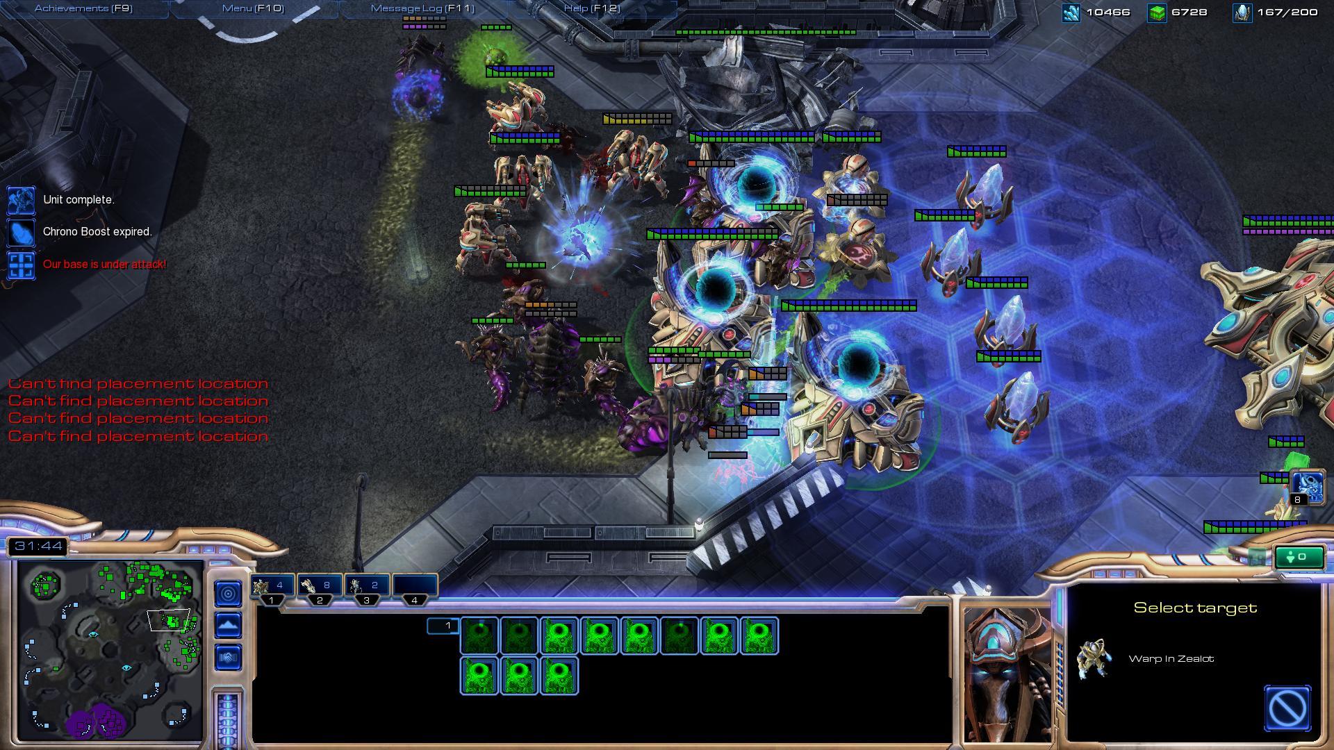 sc2 gameplay sc2 screenshot - Gamingcfg com