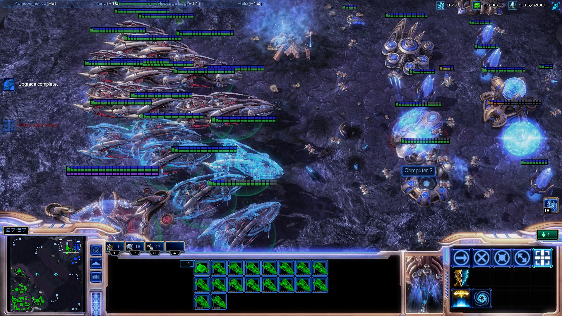 starcraft 2 carrier sc2 screenshot