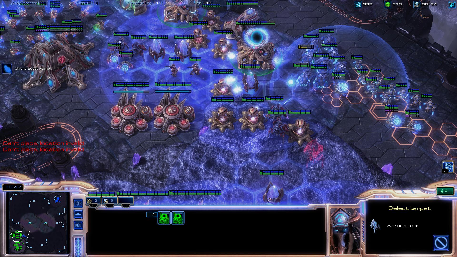 starcraft 2 protoss sc2 screenshot