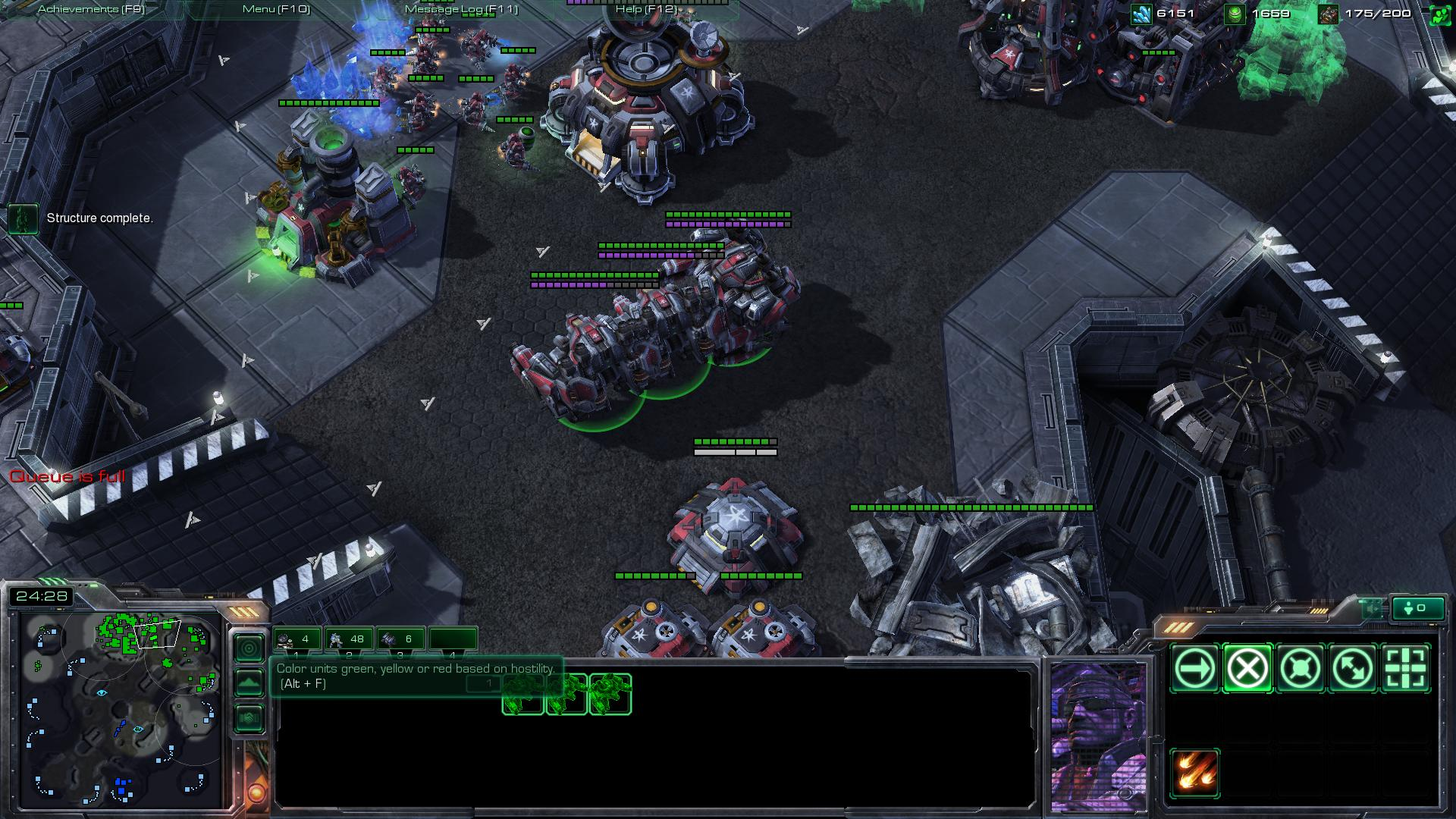 starcraft 2 terran build sc2 screenshot - Gamingcfg com