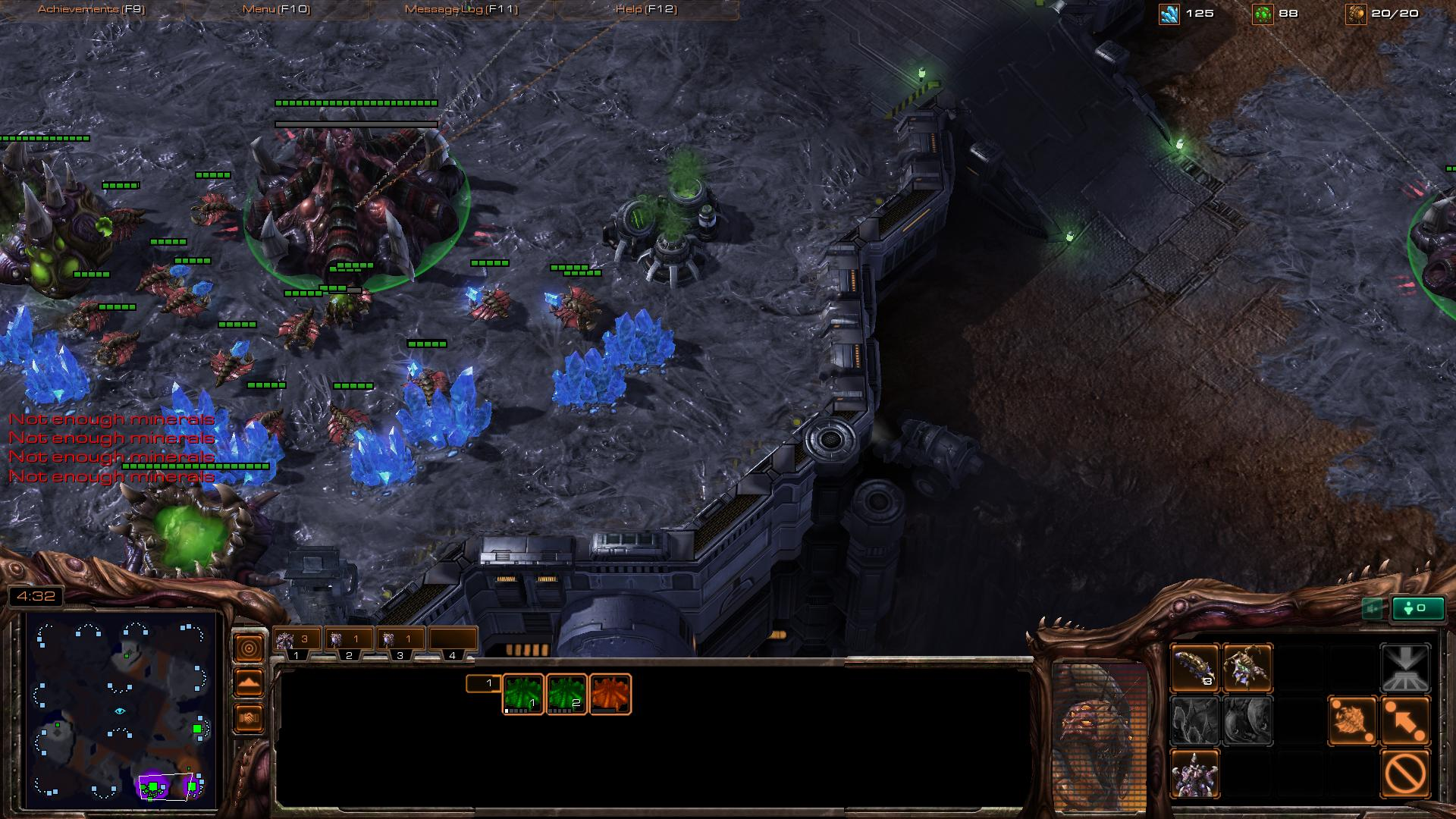 starcraft 2 zerg sc2 screenshot