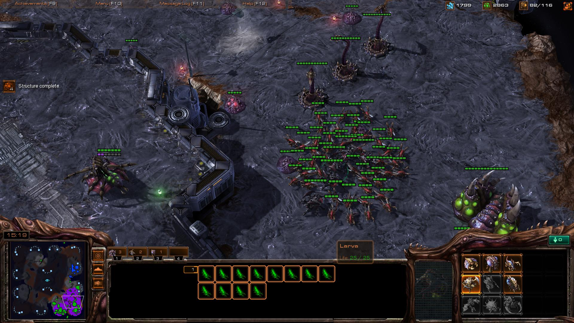 zergling sc2 sc2 screenshot