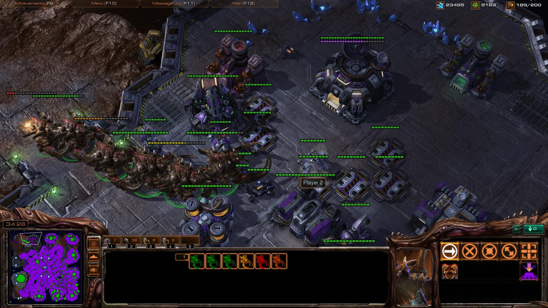 zerg ultralisk sc2 screenshot