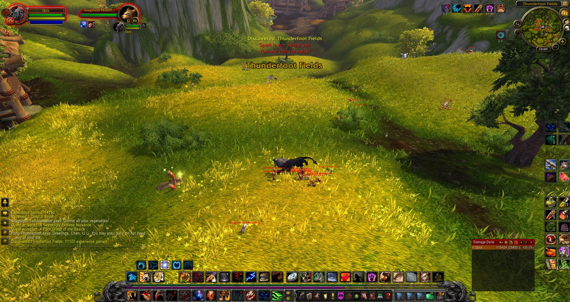 Thunderfoot Fields wow screenshot