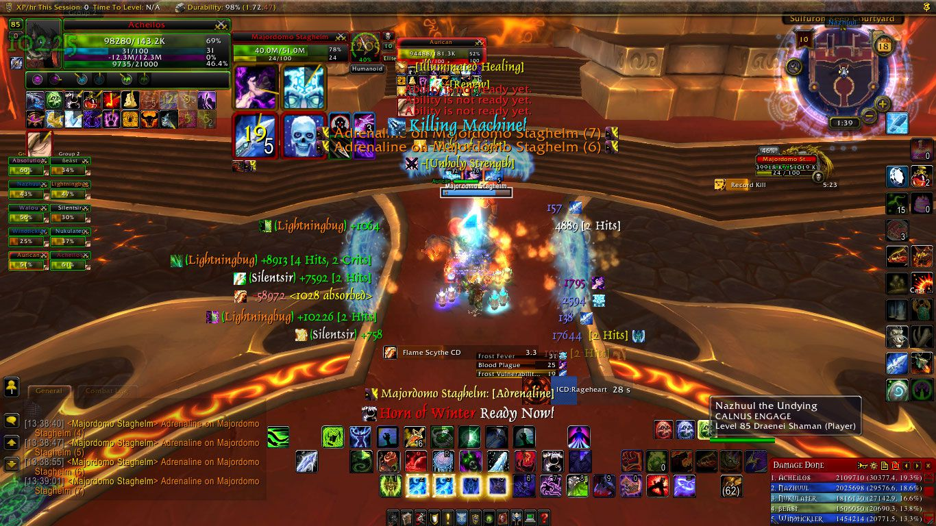 Acheilos UI wow screenshot - Gamingcfg com