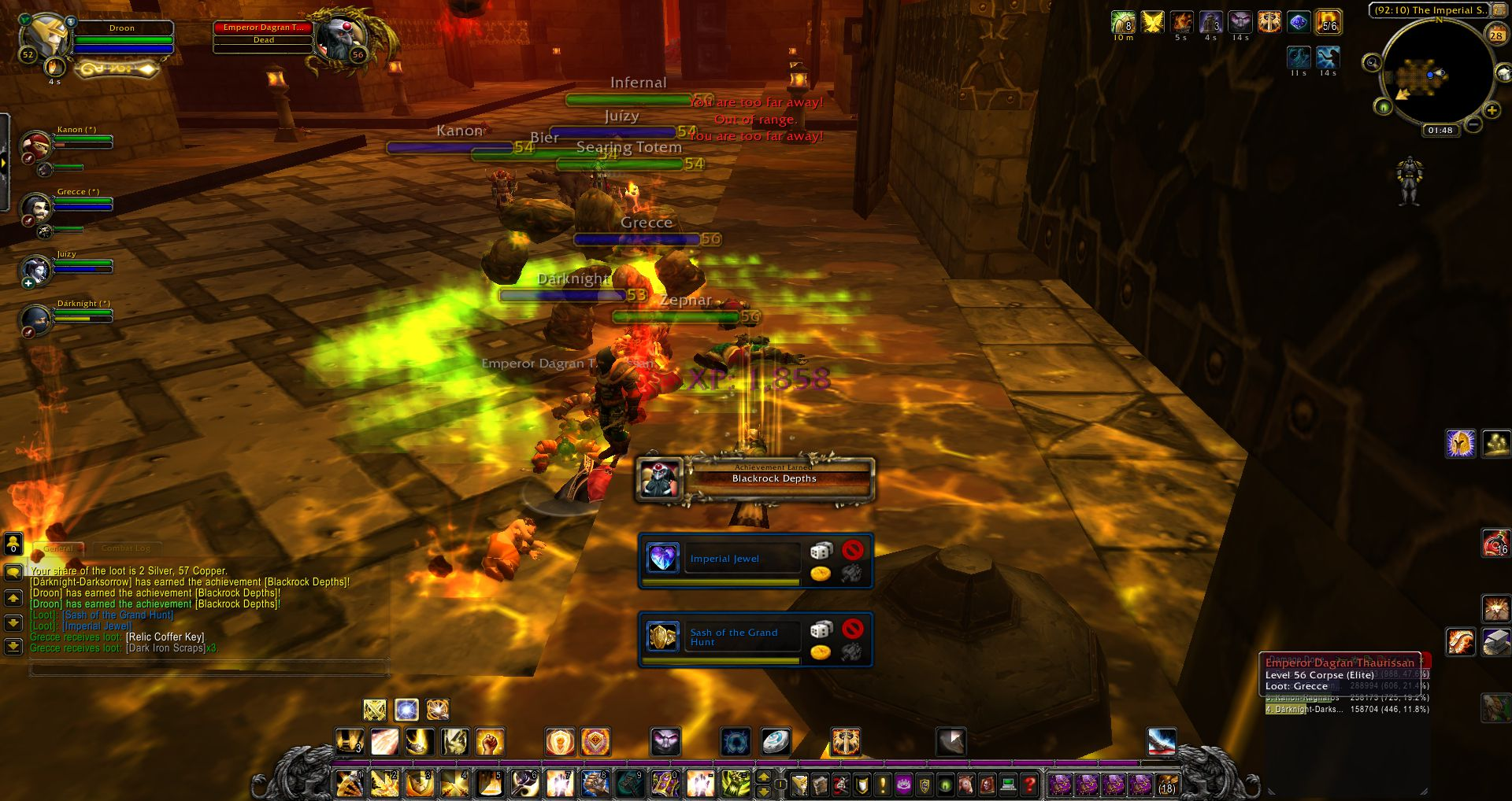 Blackrock Depths wow screenshot