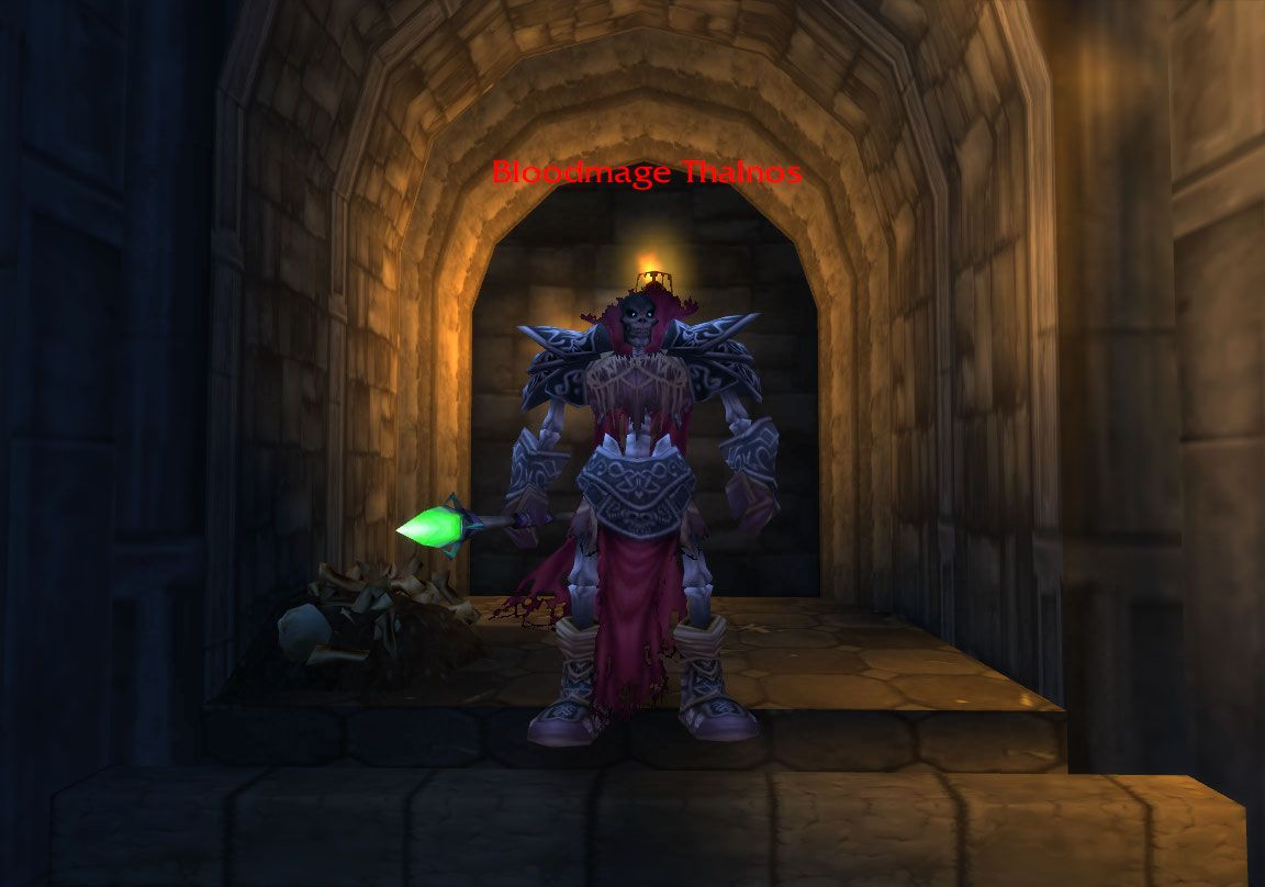 Bloodmage Thalnos wow screenshot - Gamingcfg com