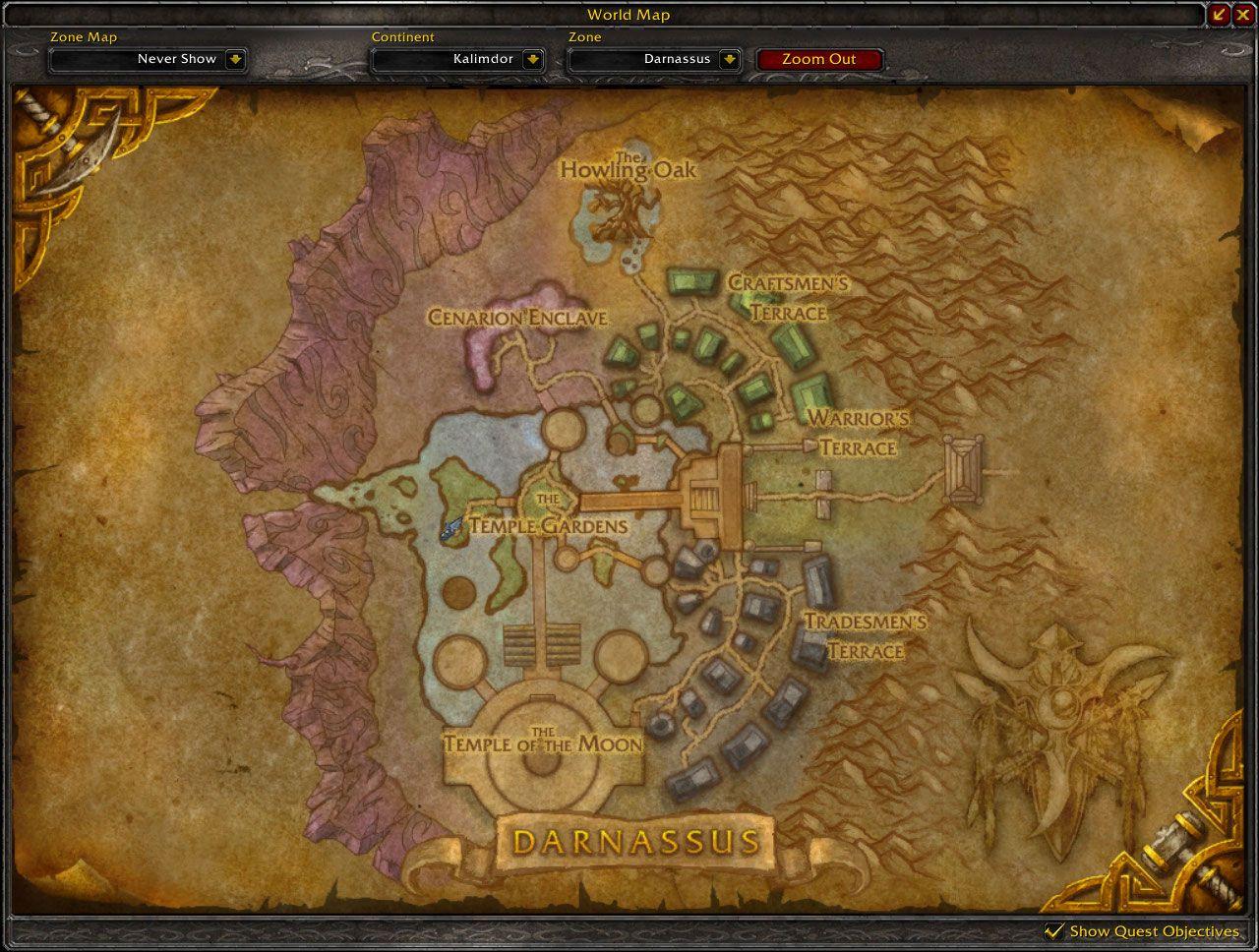 Darnassus cataclysm map wow screenshot gamingcfg darnassus cataclysm map wow screenshot gumiabroncs Choice Image