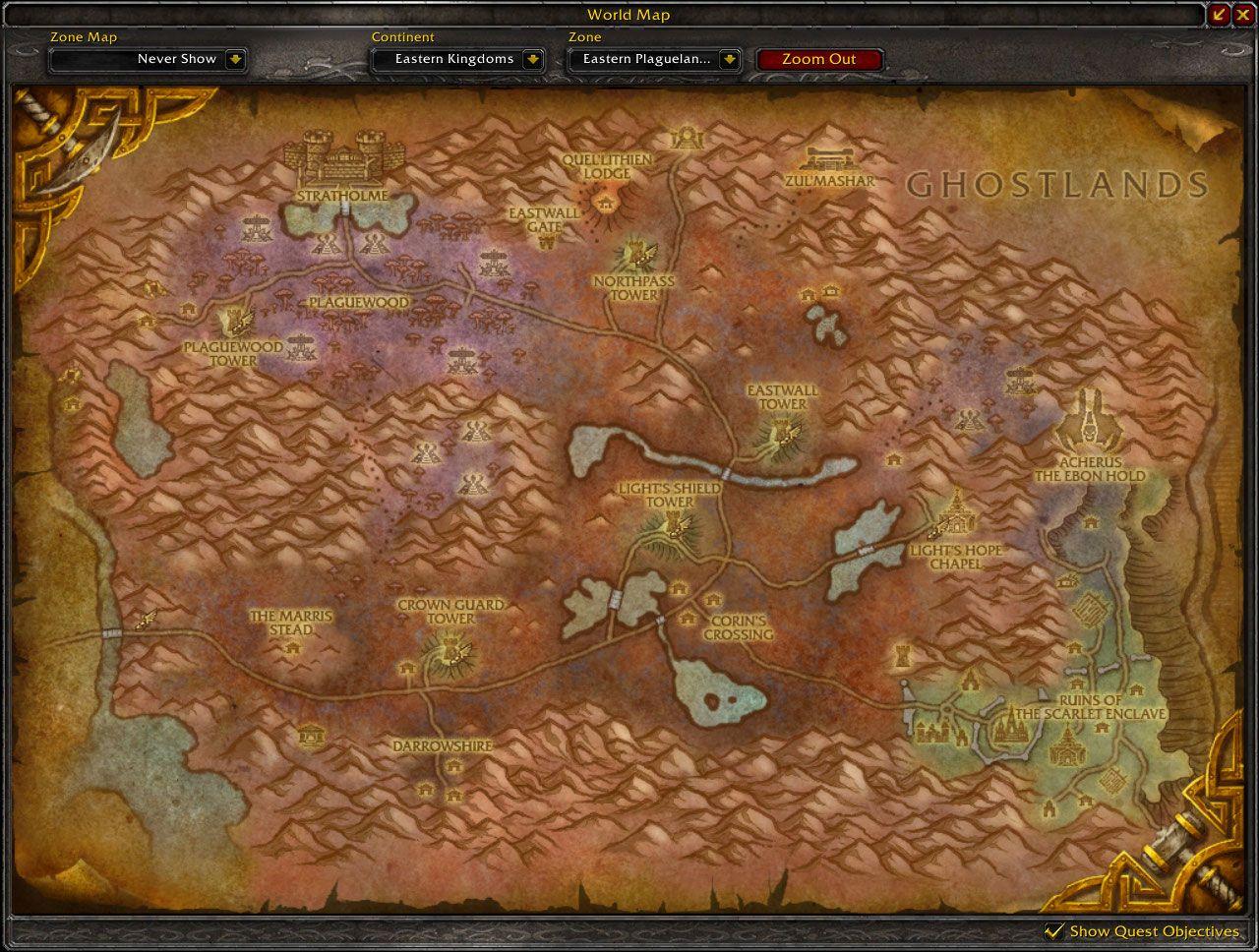 Eastern plaguelands cataclysm map wow screenshot gamingcfg eastern plaguelands cataclysm map wow screenshot gumiabroncs Image collections