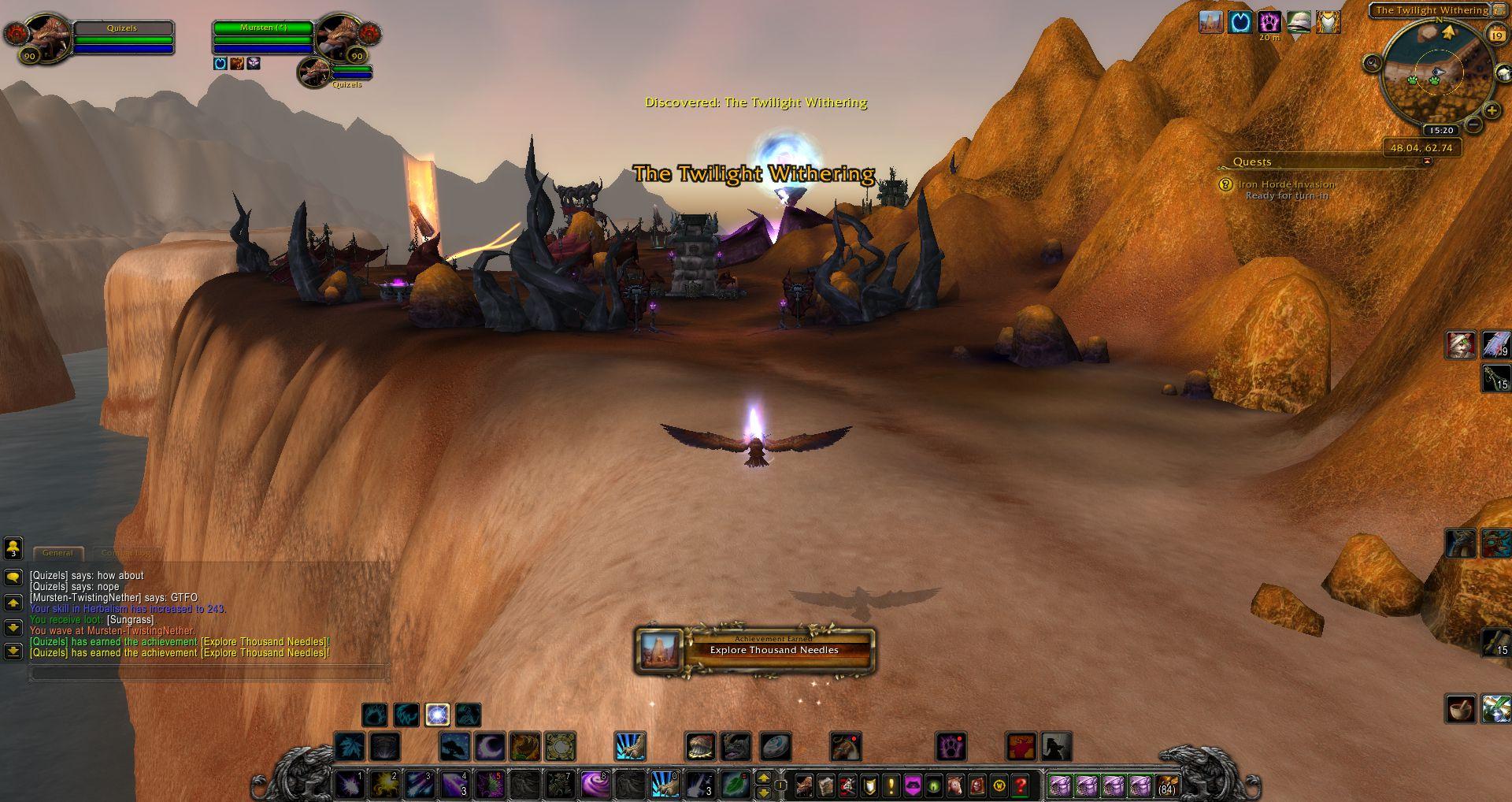 Explore Thousand Needles wow screenshot - Gamingcfg com