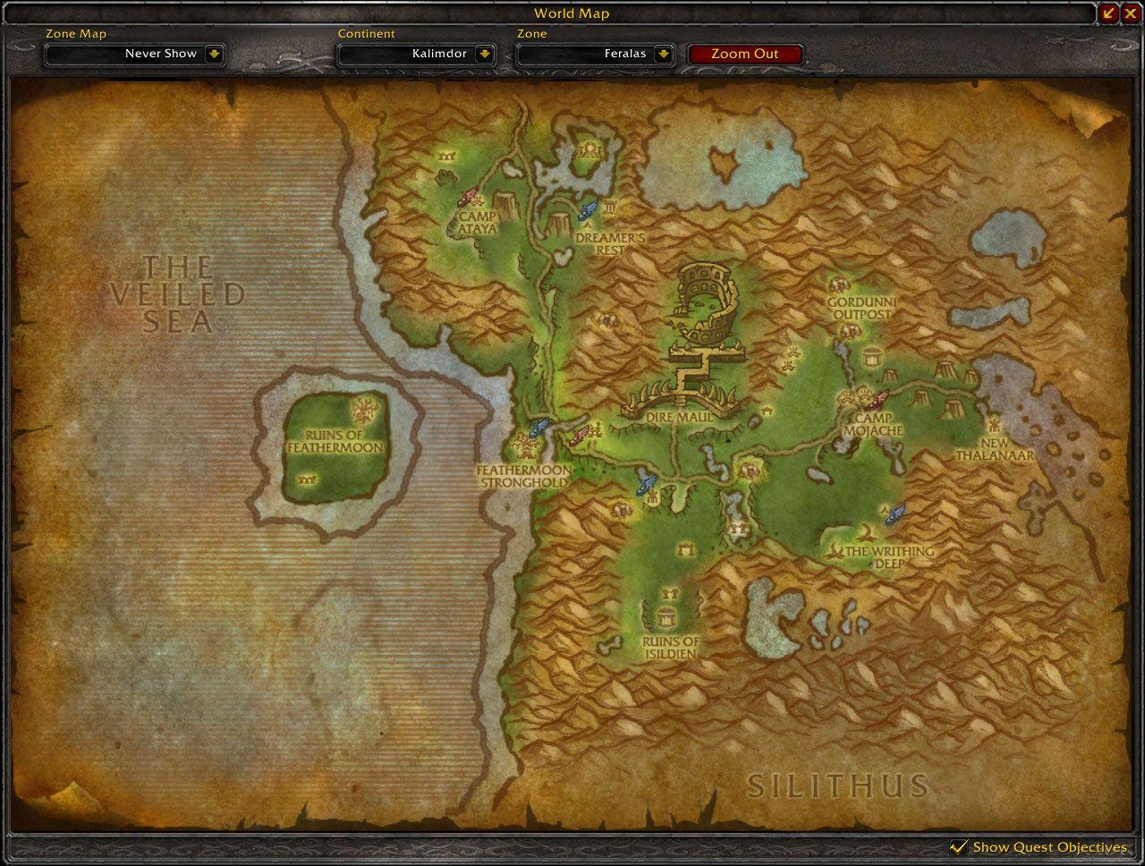 Feralas cataclysm map wow screenshot gamingcfg feralas cataclysm map wow screenshot gumiabroncs Choice Image