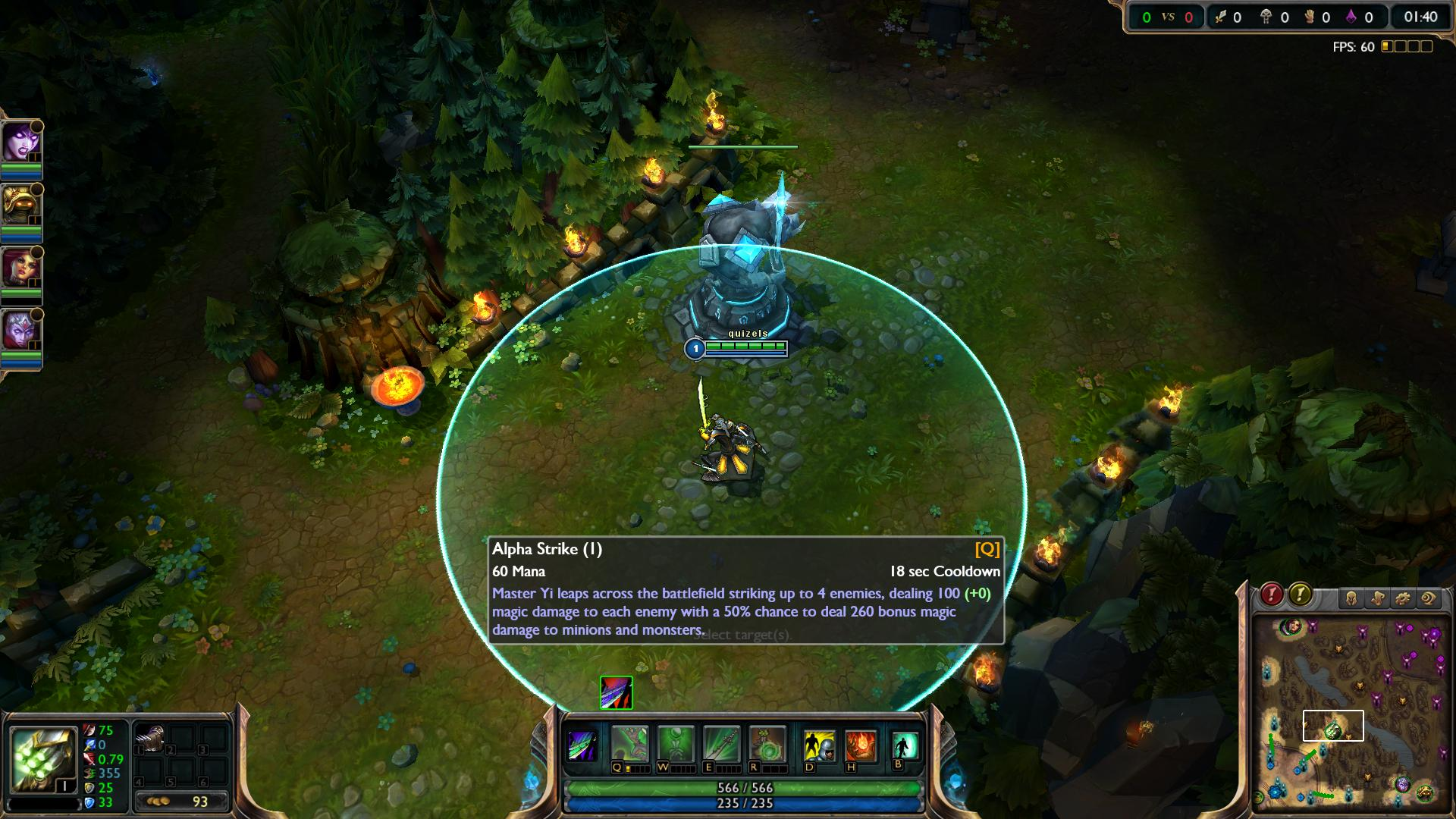 Alpha Strike Master Yi lol lol screenshot