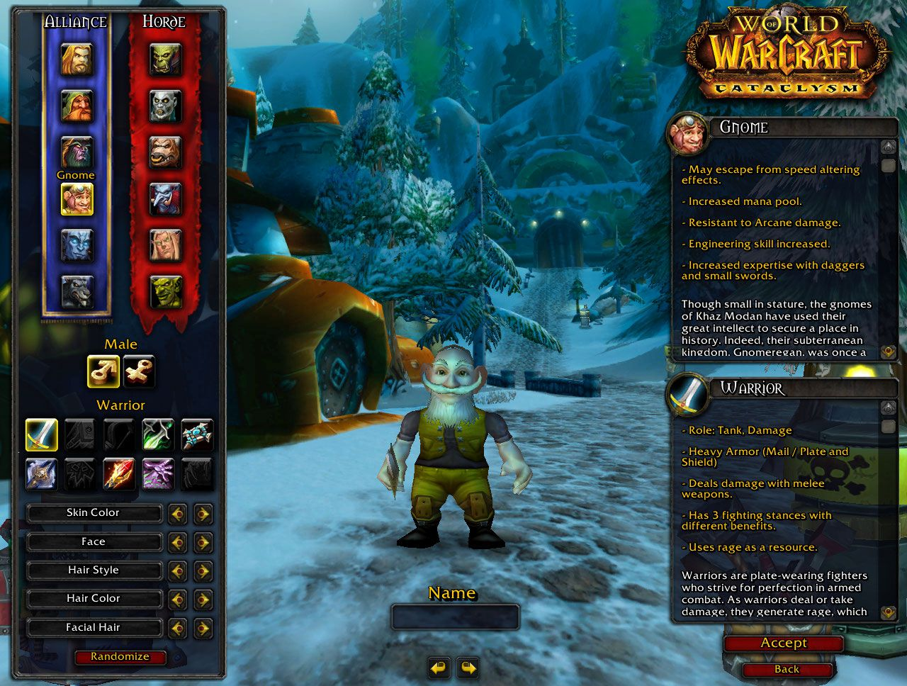 Gnome warrior on WoW nude scenes