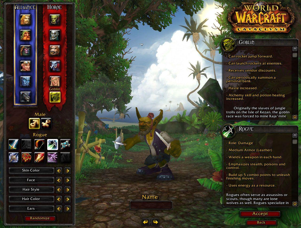 Goblin Rogue wow screenshot - Gamingcfg com