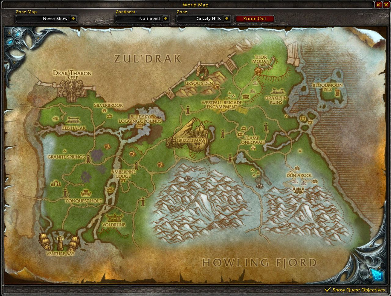 Grizzly hills map wow screenshot gamingcfg grizzly hills map wow screenshot gumiabroncs Images