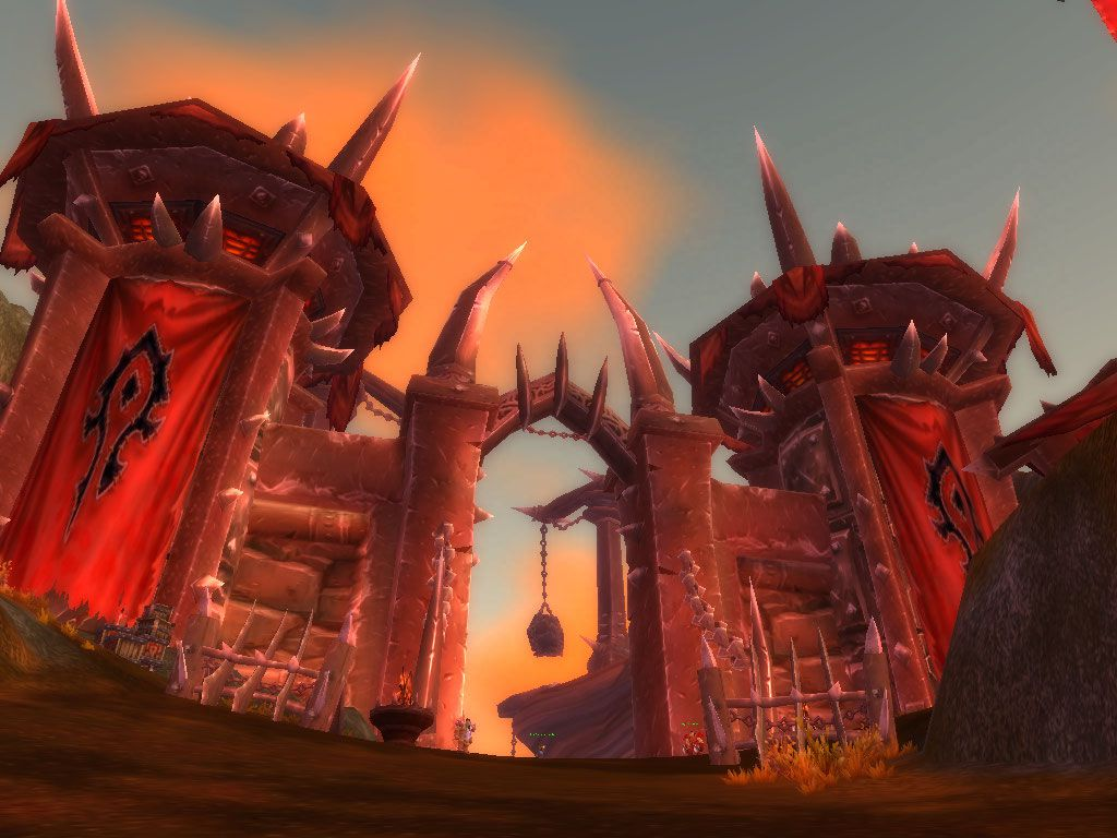 Horde City Azshara wow screenshot