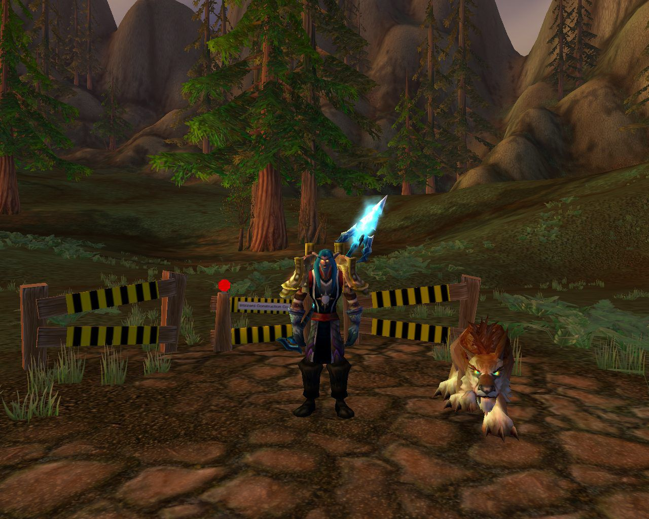 Hyjal under construction wow screenshot