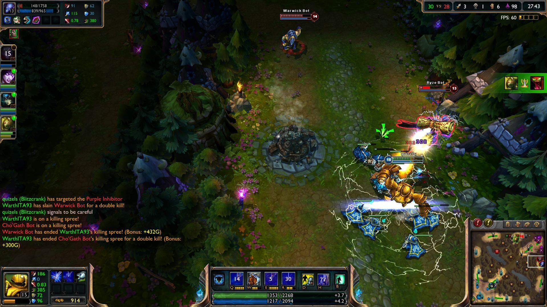 Blitzcrank Static Field lol lol screenshot - Gamingcfg com