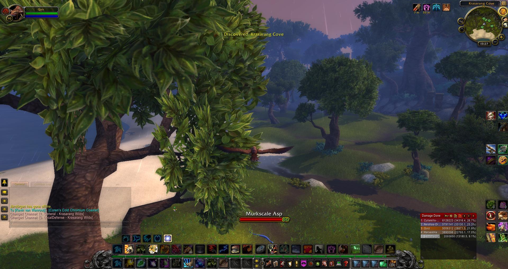 Krasarang Cove wow screenshot - Gamingcfg com