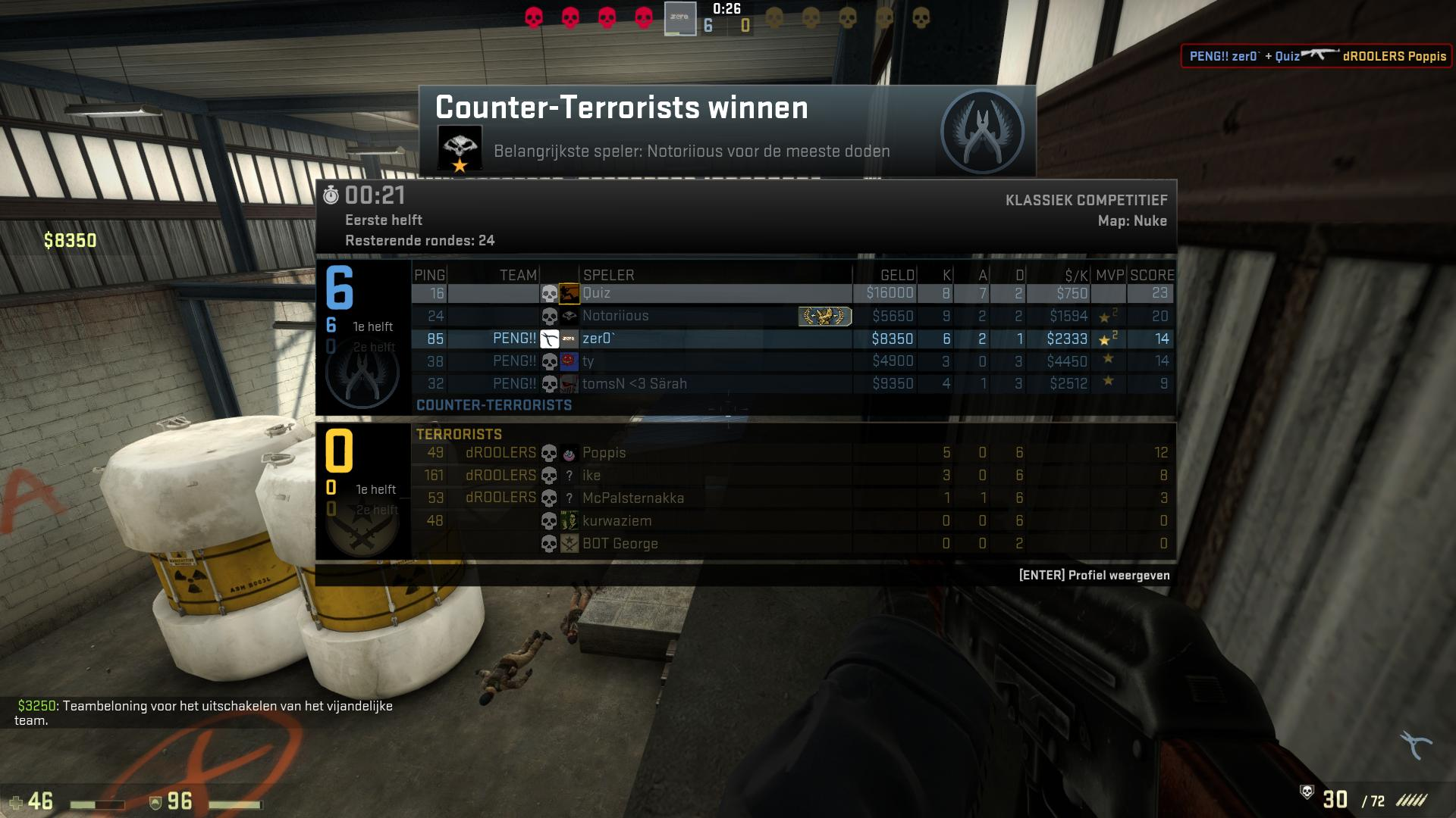 scoreboard cs go csgo screenshot