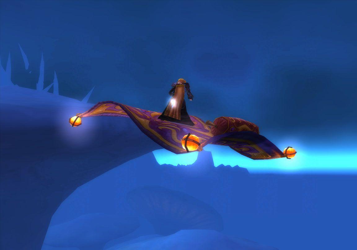 Mage at Flying Carpet wow screenshot