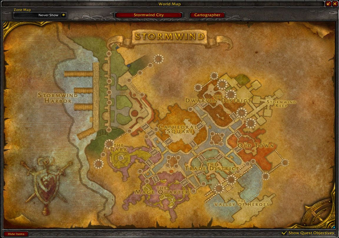 map of stormwind wow screenshot gamingcfg